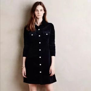 Alexa Chung for AG Pixie Corduroy Dress